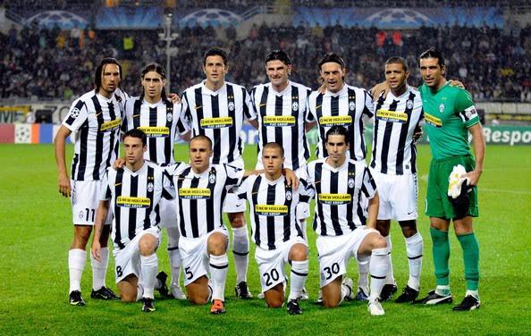 Ucok Brow Juventus Team Squad 2011