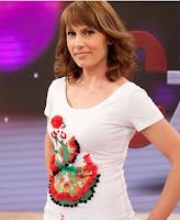 Carolina Casado con moda navera en TVE