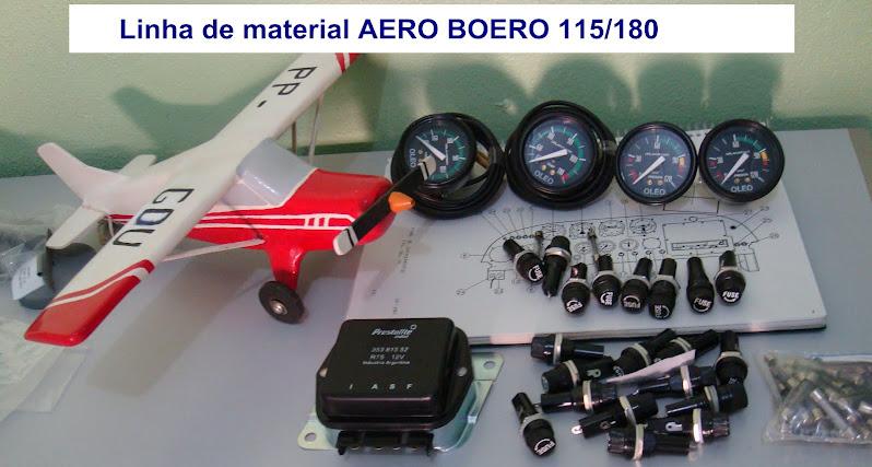 Material de reposição -AERO BOERO 115/180- PAINEL