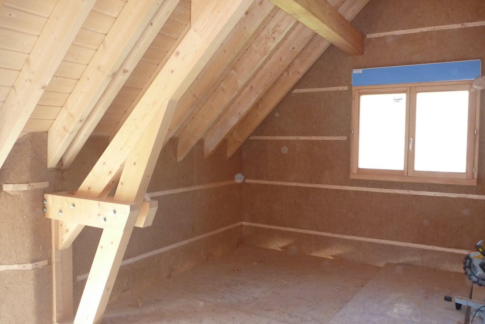 construire sa maison toit isolation pare vapeur. Black Bedroom Furniture Sets. Home Design Ideas