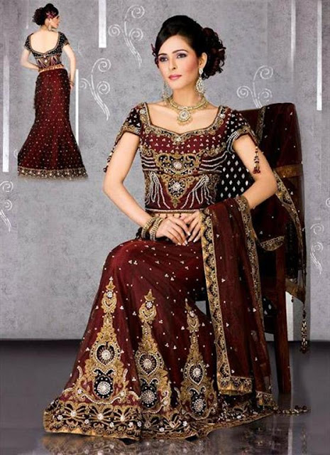 Stylish Bridal Lehanga 2012