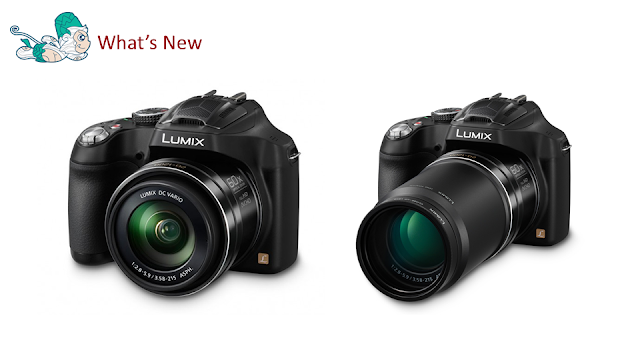 Panasonic Lumix DMC-FZ70 Dengan 60x Optical Zoom