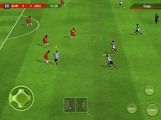 Real Soccer 2012 for HVGA(320x480),WVGA(480x800) devices
