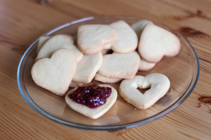 Jam Cookies Butter Biscuits Sables Raspberry Strawberry