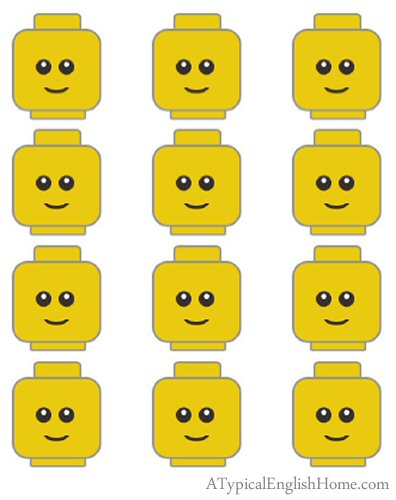 Download/Print Lego Head Printable