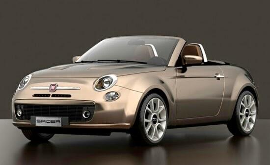 Concept: Fiat 500 Roadster
