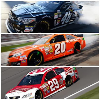 Jimmie Johnson, Matt Kenseth, Kevin Harvick championship chances (ph cr Getty Images)