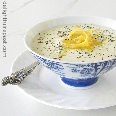 Potato Soup - From Leftover Mashed Potatoes / www.delightfulrepast.com