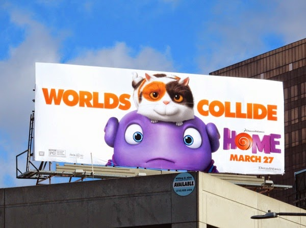 Home Worlds collide billboard