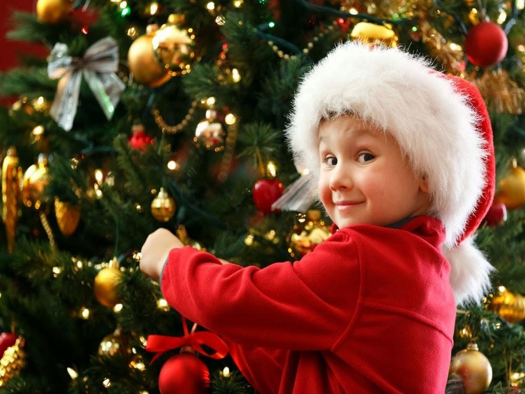 Merry Christmas Cute Kids Babies HD Wallpapers Photos