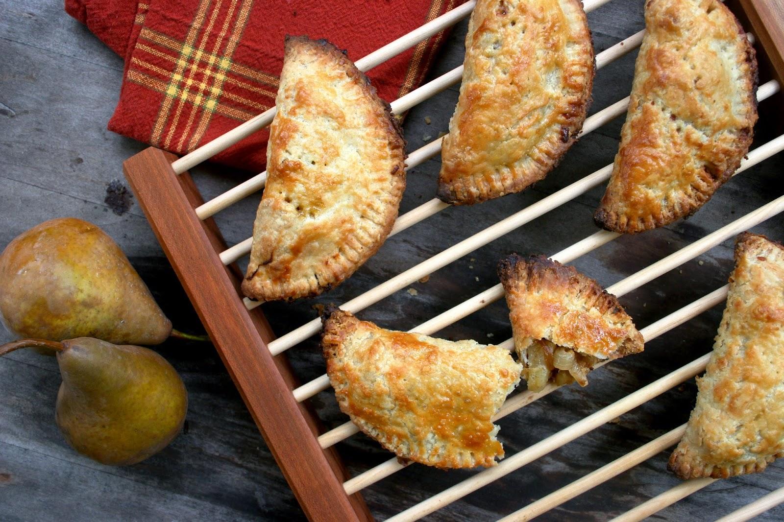 Pear, Gruyere & Caramelized Onion Hand Pies