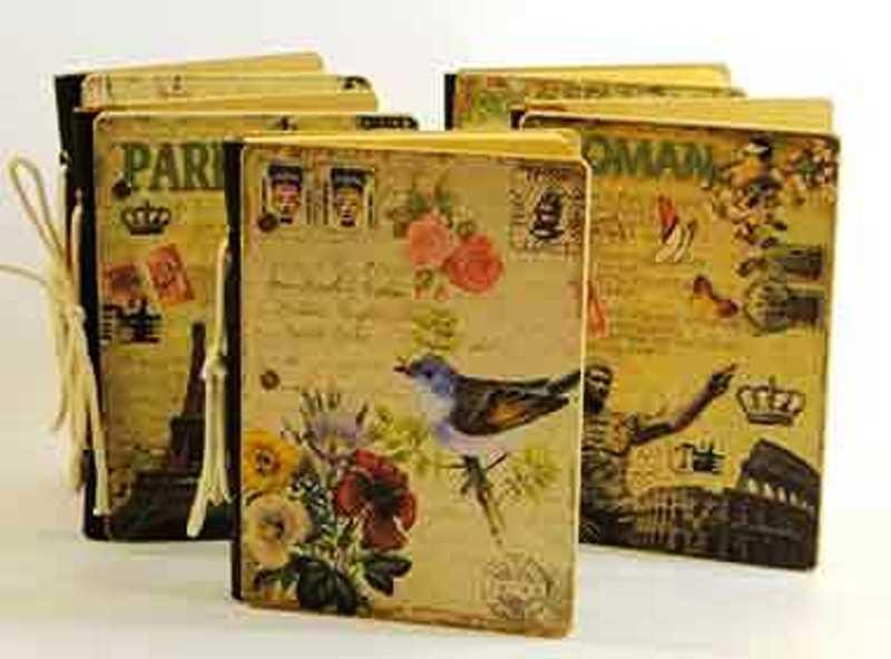 Caderneta Vintage