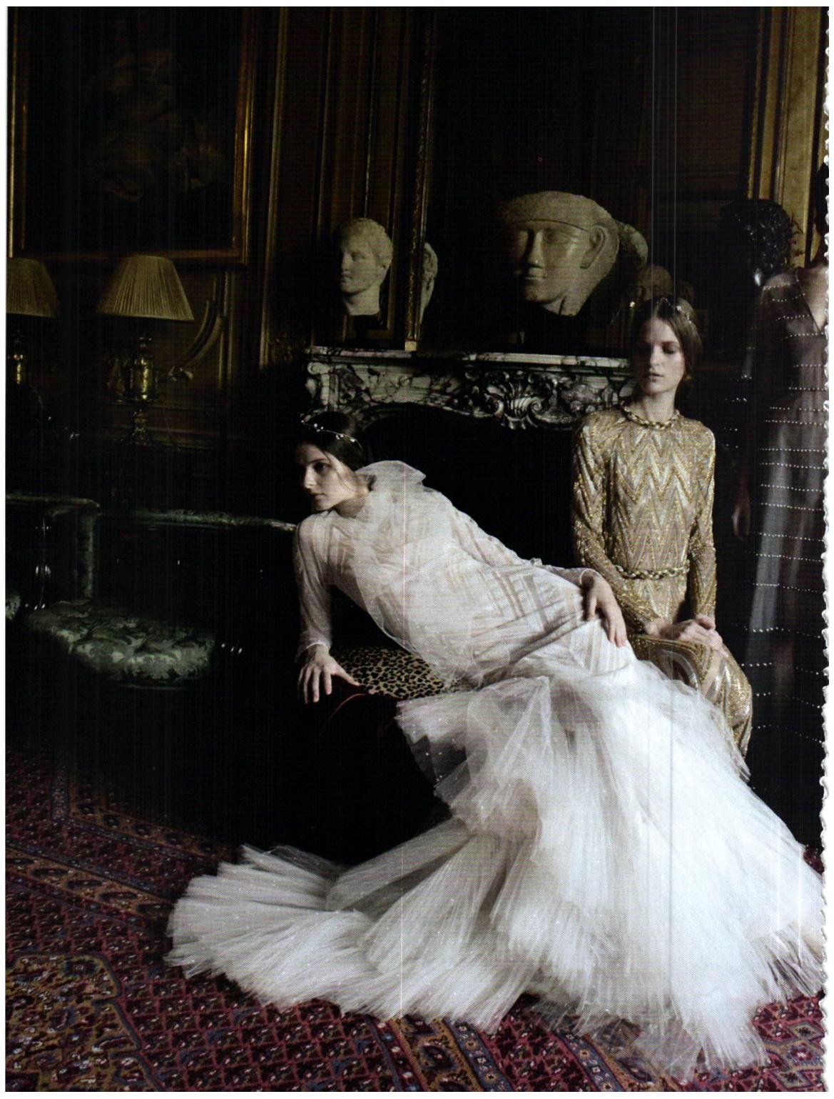 Ma cherie dior couture in editorials valentino haute for Haute couture photoshoot