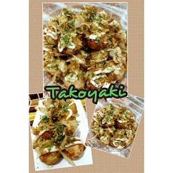 Kelas DIY Homemade Takoyaki RM250 percuma pan