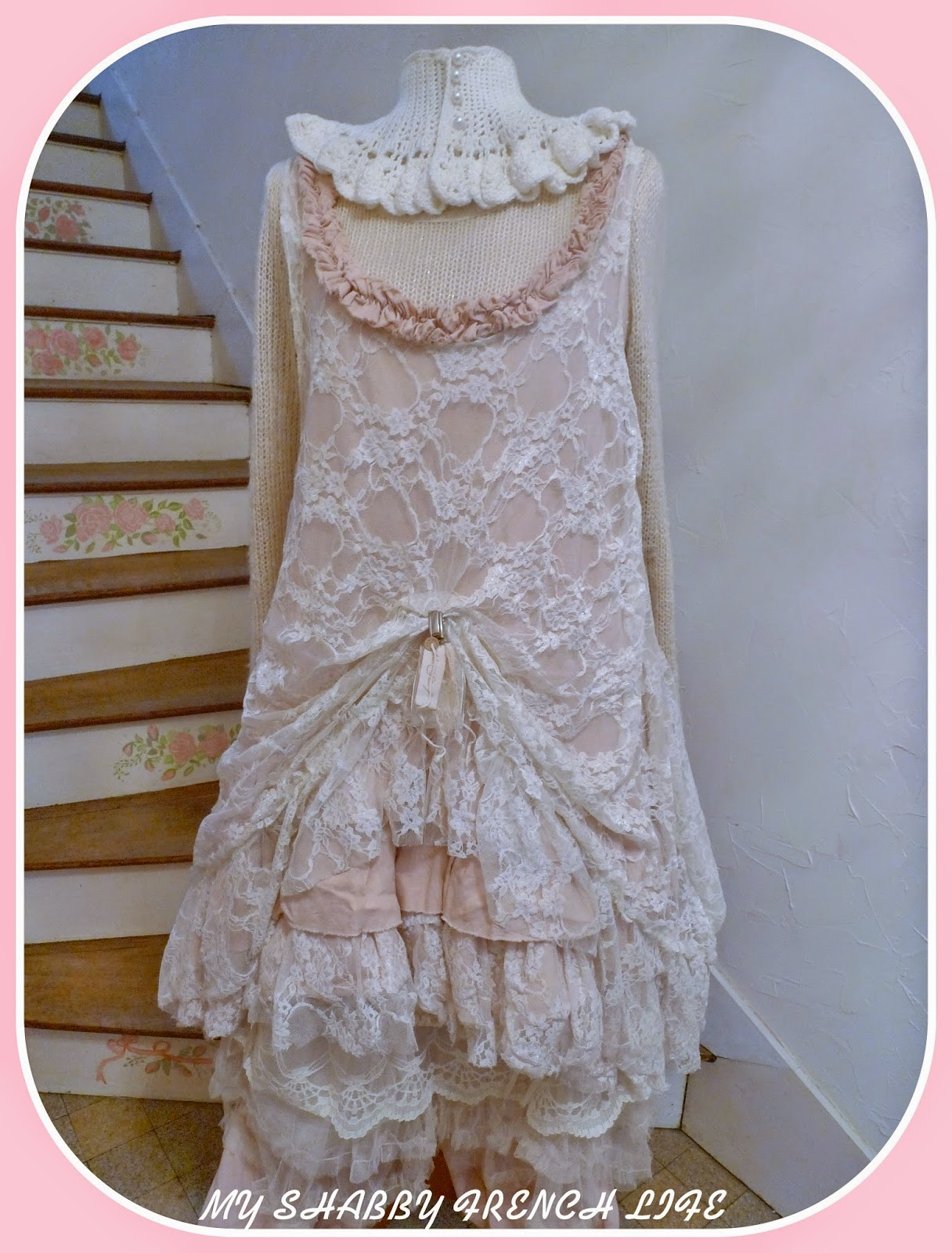 My shabby french life tenue shabby du jour sur un air for Tenue shabby chic