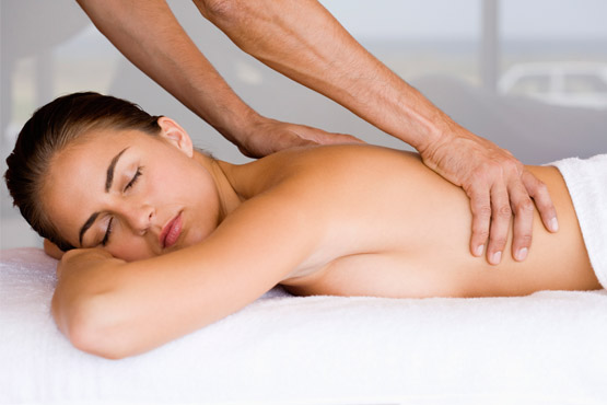 Esposa na massagem