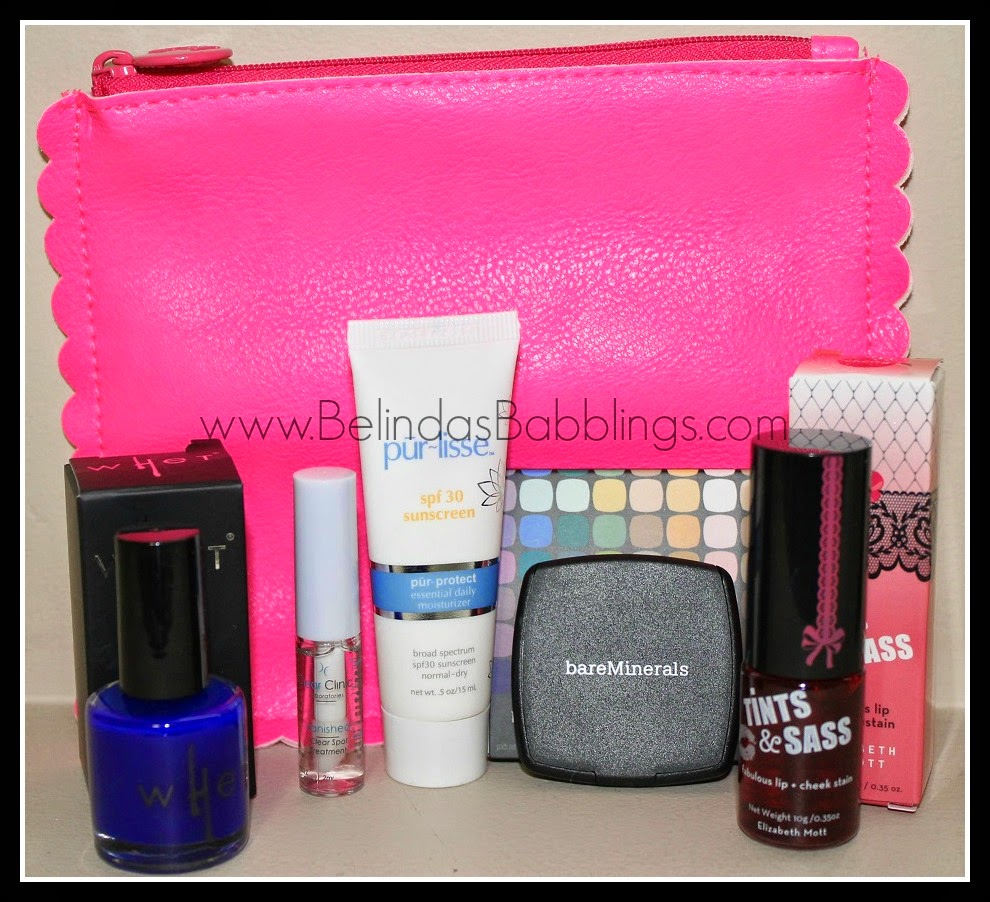 Belinda39;s Babblings: Ipsy Bag July 2014 Sensationally Sunkissed