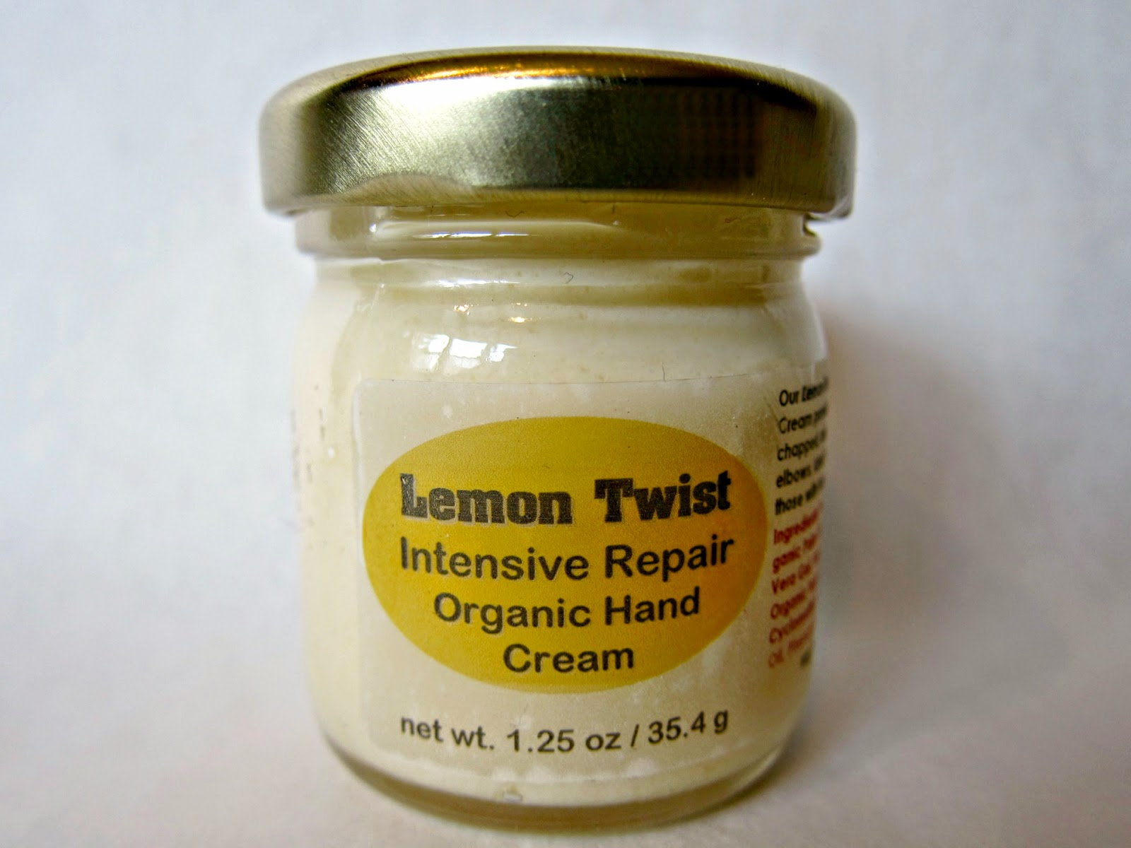 Lemon Twist Intensive Repair Hand Cream