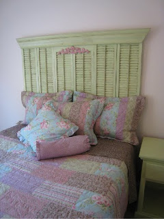 for an extra pop of color try a fun and colorful upholstered headboards or even a great print