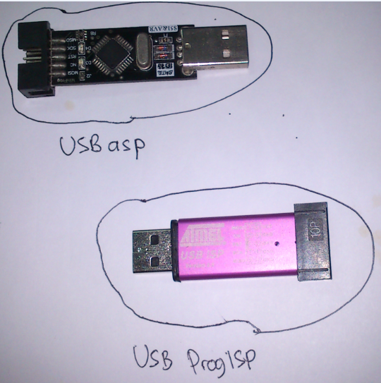 Change firmware USB ProgISP to USBasp