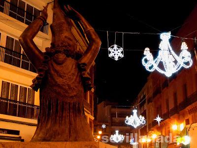 calle Velázquez Navidad 2012 Sevilla