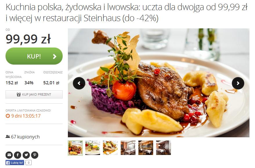http://www.groupon.pl/oferty/wroclaw/steinhaus/43746308