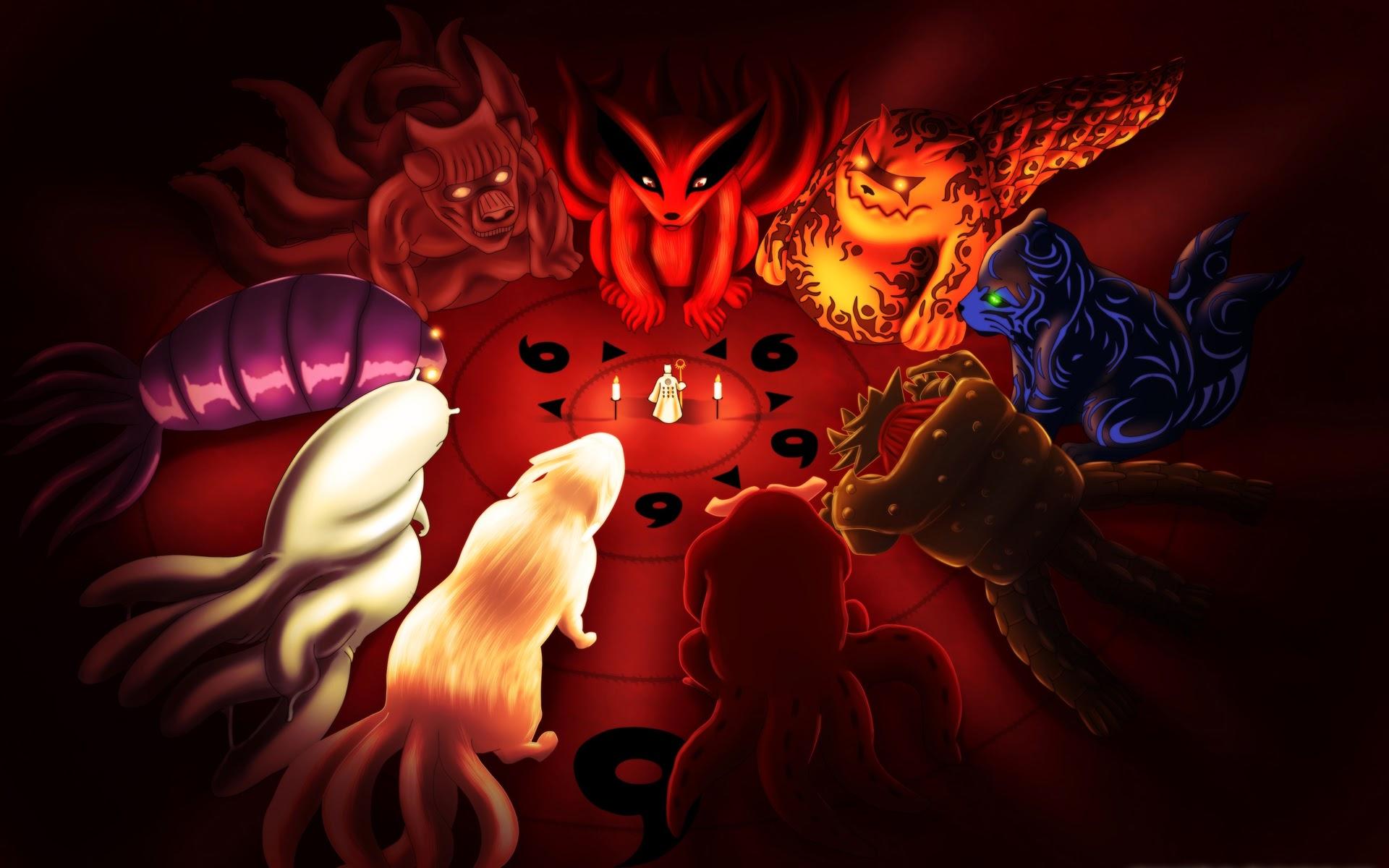 sennnin biju tailed beast anime picture hd wallpaper 1920x1200 05