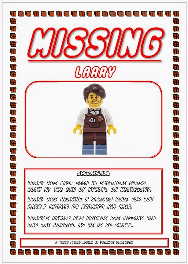 Missing Larry Poster