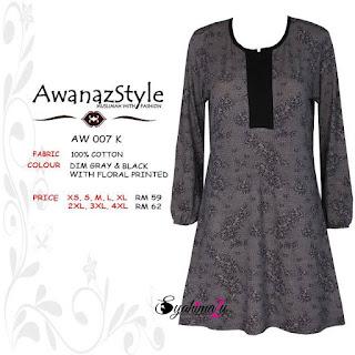 T-Shirt-Muslimah-Awanazstyle-AW007K