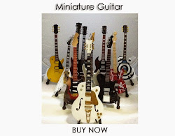 Miniature Replica Guitars