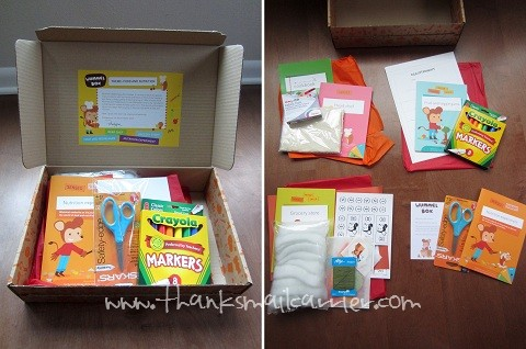 Wummelbox contents