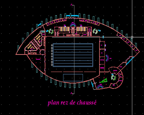 Plan de piscine dwg free autocad projects free dwg for Piscine olympique