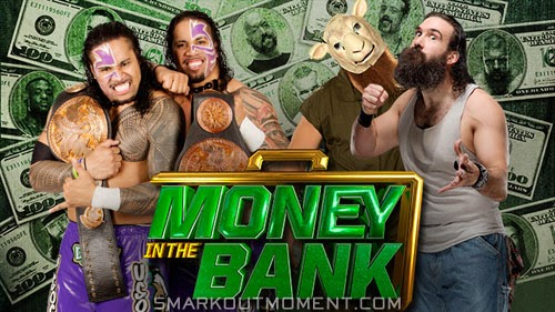 The Wyatt Family wins Tag Team Championship against Usos Money in the Bank 2014 PPV Predictions