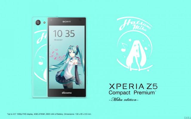Sony Xperia Z5 Compact Premium dengan tampilan 1080p