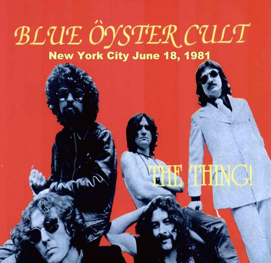 Image result for blue oyster cult live new york 1981