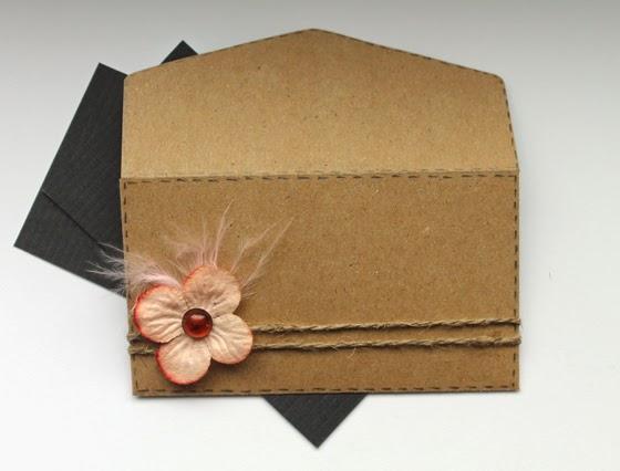 конверт для визиток, визитка, эко-стиль