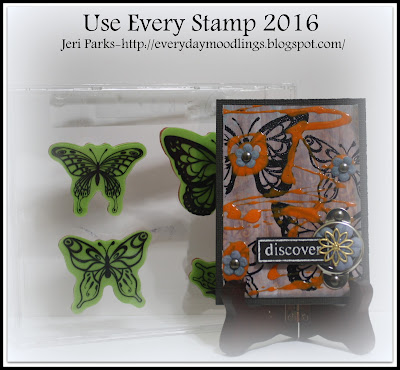 Everyday Moodlings; Use Every Stamp