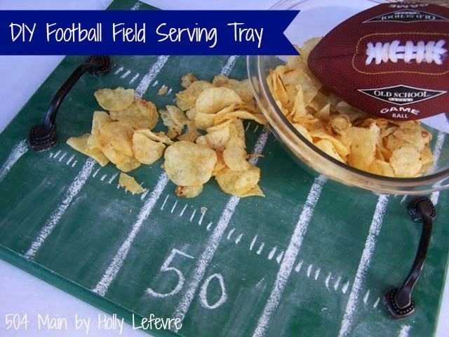 Football Field Tray by 504Main/Holly Lefevre