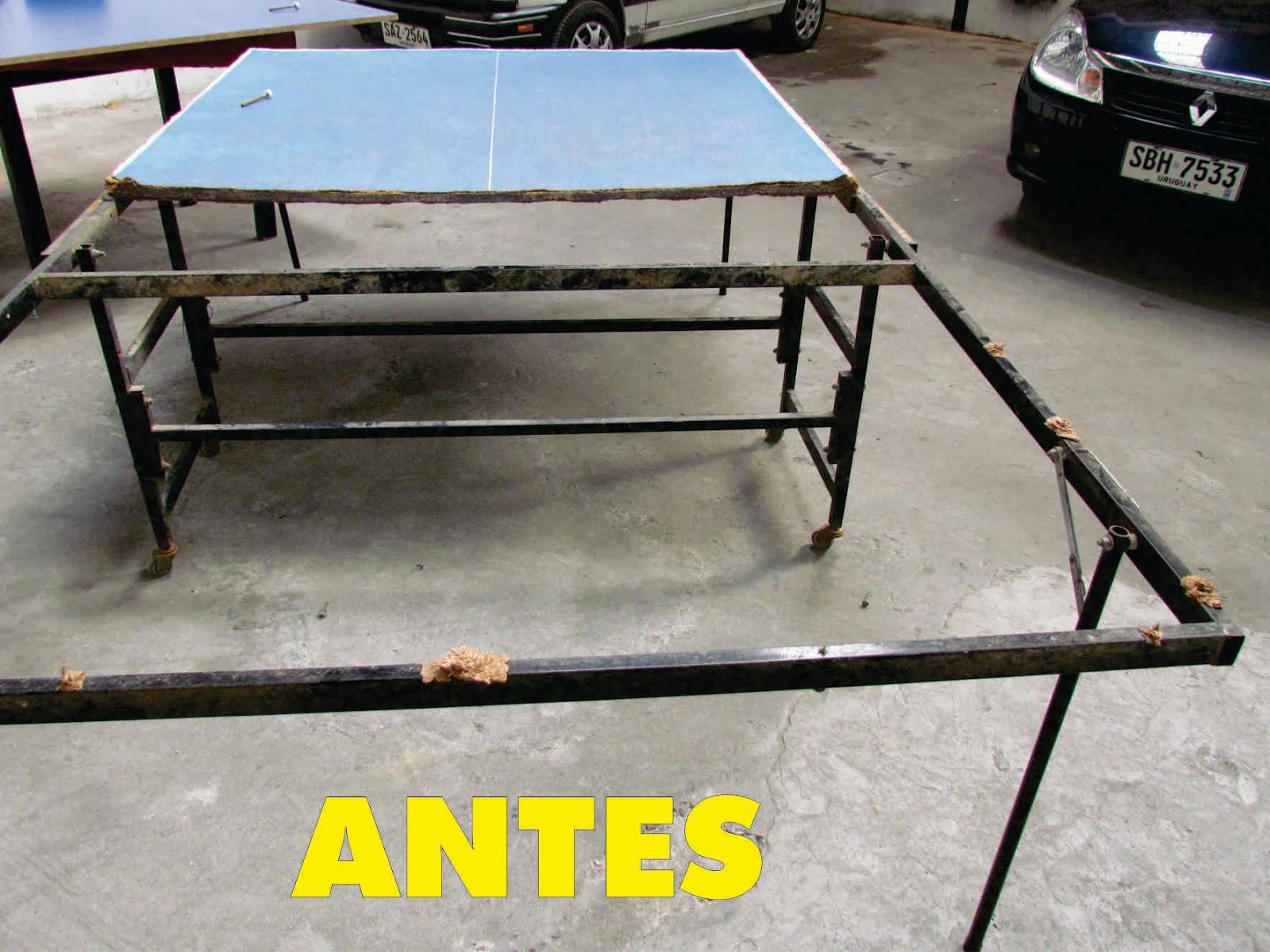 Mesas de ping pong reparaci n de mesas de ping pong for Mesa de ping pong milanuncios