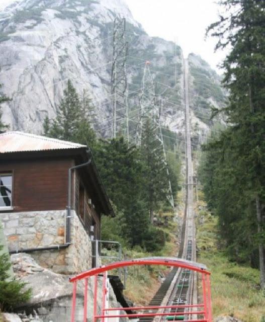 Mountain raid in swiss