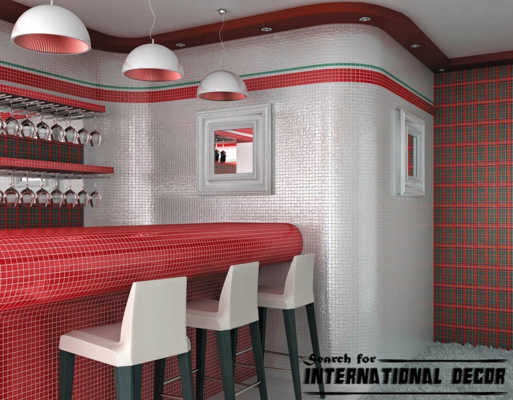 mosaic tile, mosaic tiles, mosaic art and designs, red and white mosaics
