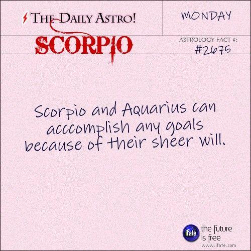 can scorpio and aquarius relationship work