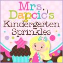 Mrs Dapcics Kindergarten Sprinkles