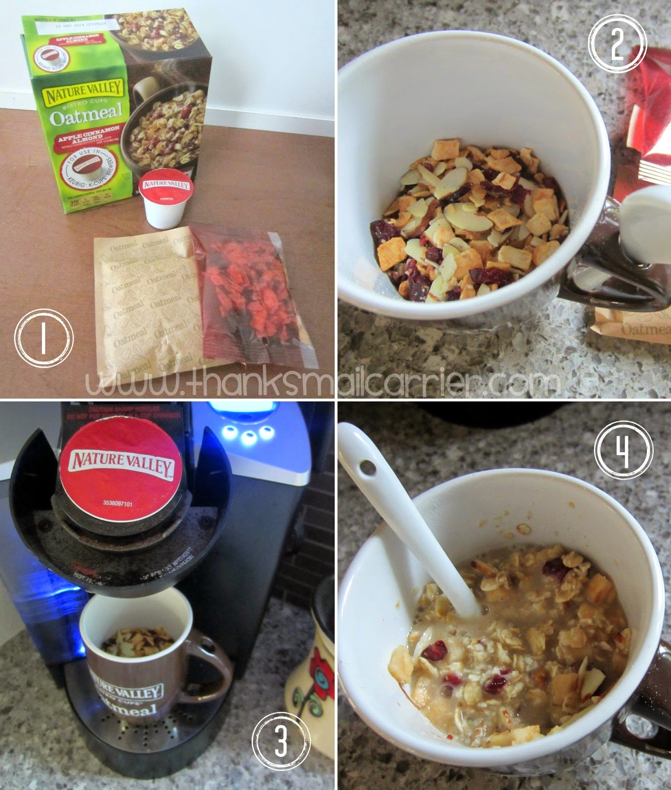 Nature Valley Bistro Cup oatmeal