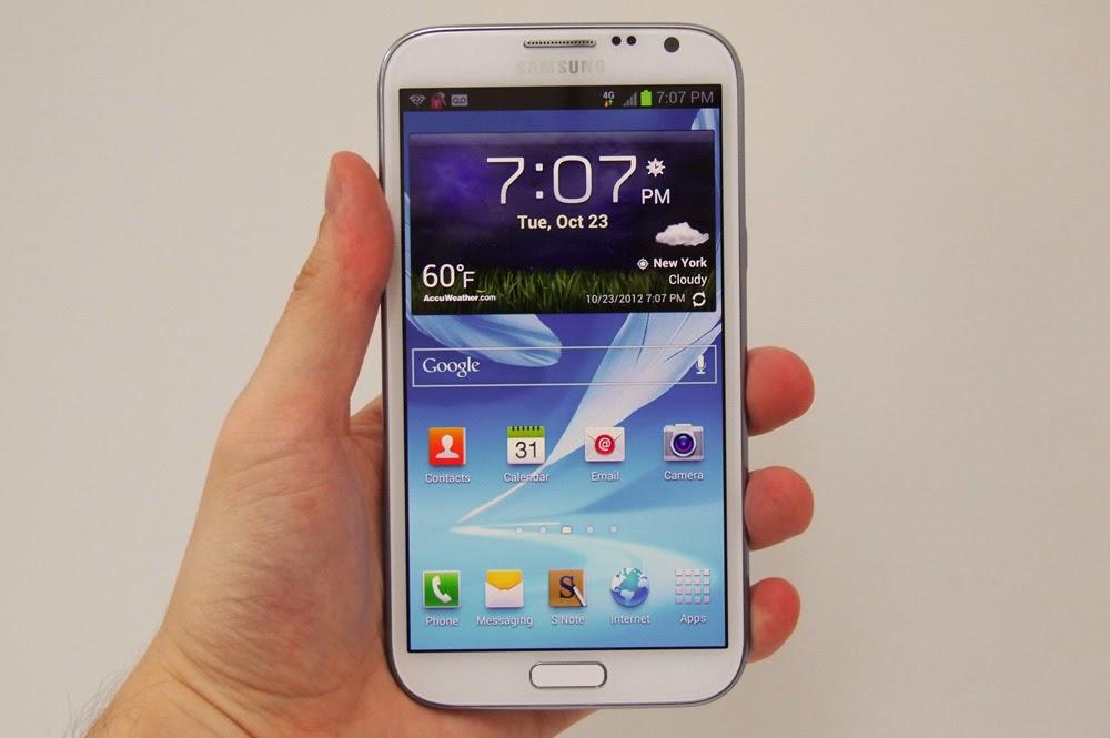 Spesifikasi Lengkap Samsung Galaxy Note II 3G