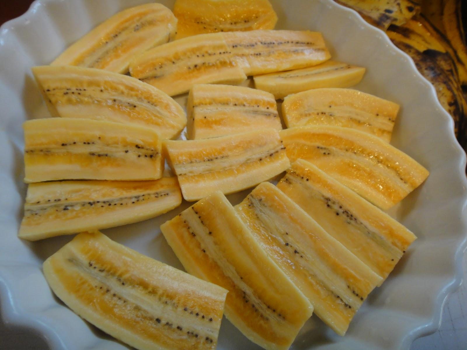 Banana Assada Com Canela Banana-da-terra Assada Com