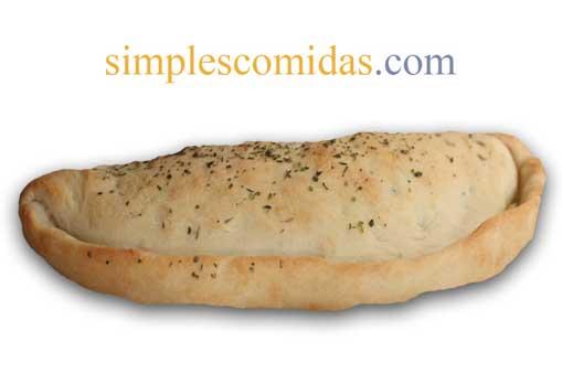 calzone muzzarella salame longaniza
