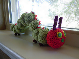 Amigurumi Caterpillar : 2000 free amigurumi patterns: a very hungry caterpillar