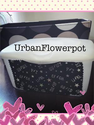 recyle baby wipe box