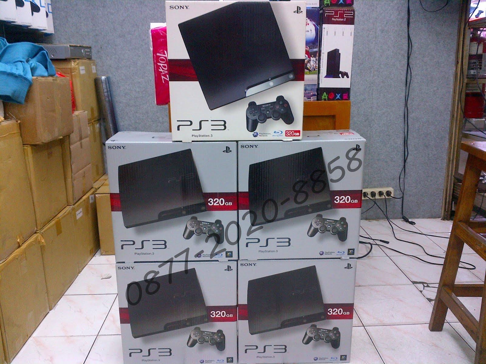 Paket Rental Playstation 4 dan 3 bm original.
